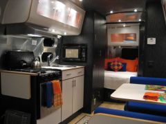Our CCD 25's galley