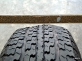 picture of separated tire tread plies