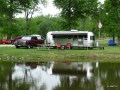 Our site in Lake Loramie State Park in Ohio