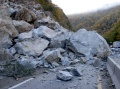NCDOT--Rock_Slide I-40