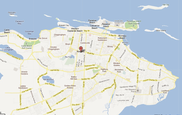 Quoin Island Map