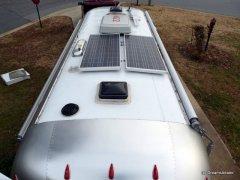 pair of 125 watt solar panels
