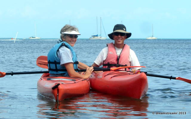 picture of kayaking