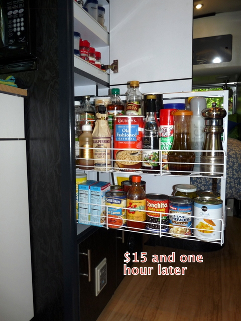 Picture of pantry extended