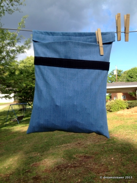 picture of new clothes pin bag