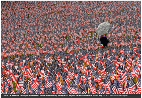 Photo from Reuters News Photos of the Week May 24 2013