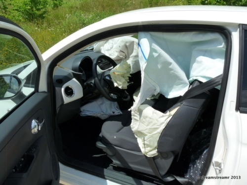 Airbags deployed everywhere