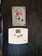 Trimetric Meter by our fridge