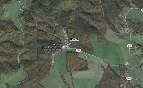 Our location in beautiful Virginia Highlands