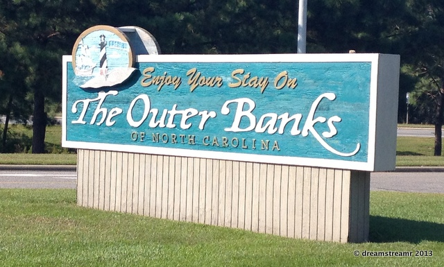 Outer Banks sign