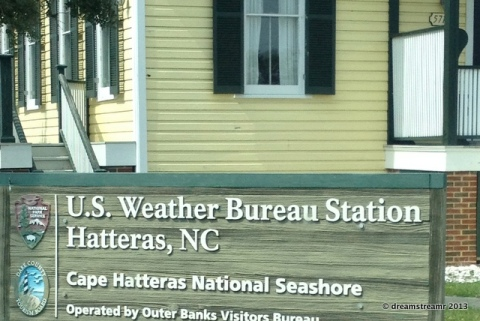 picture of Hatteras US Weather Bureau Bluilding