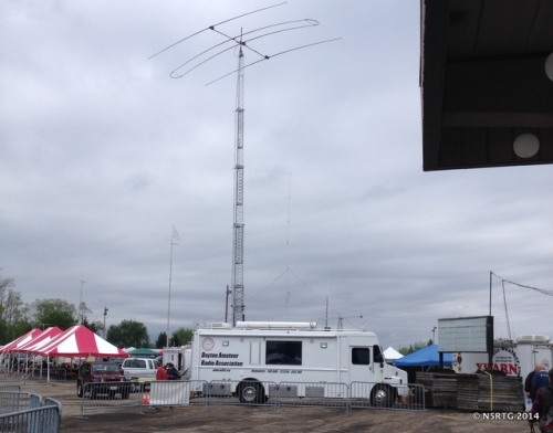 A typical sight at Hamvention -- BIG BEAM
