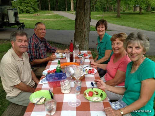 Memorial Day Picnic, a week early