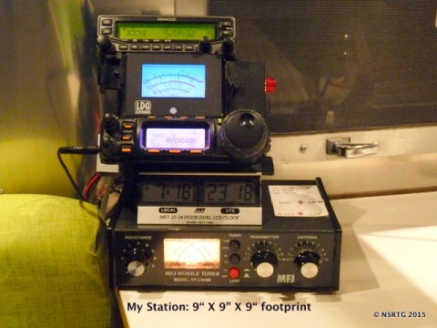 Our HF station