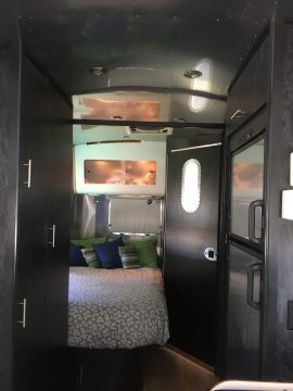 Airstream walls and ceilings all clean